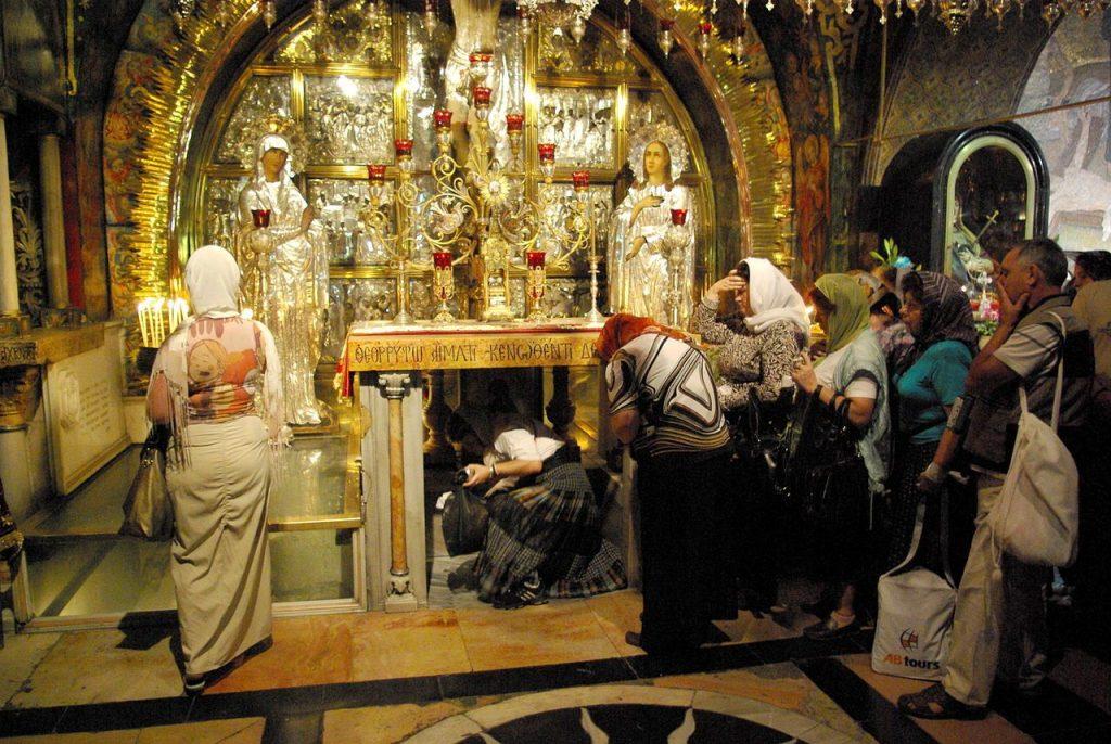 Grabeskirche Jerusalem (gemeinfrei)