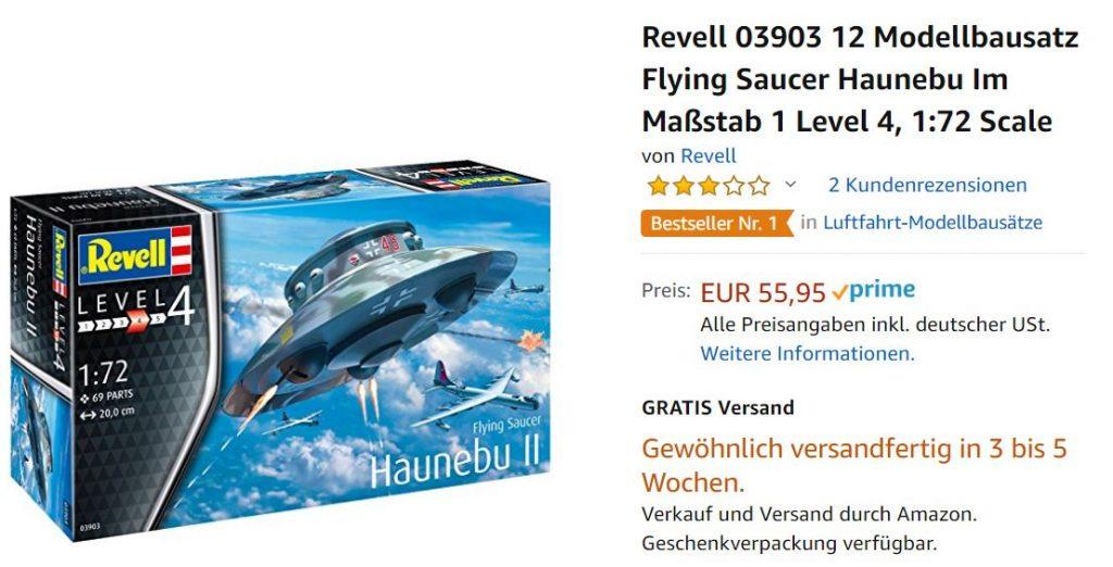 Revell Bausatz Ufo Screenshot Amazon